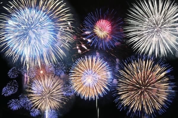 Nara fireworks display