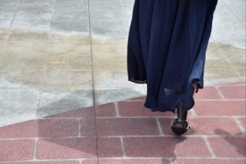 Maxi-length dress
