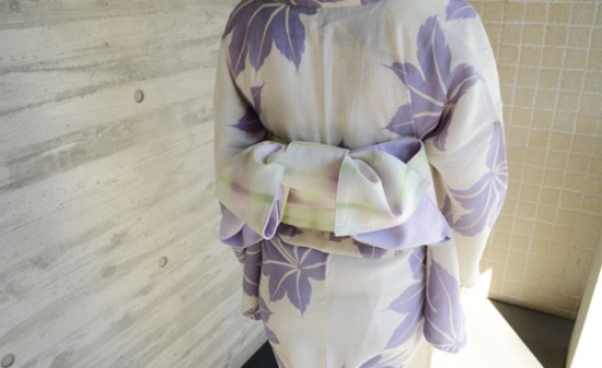 Yukata way of knitting