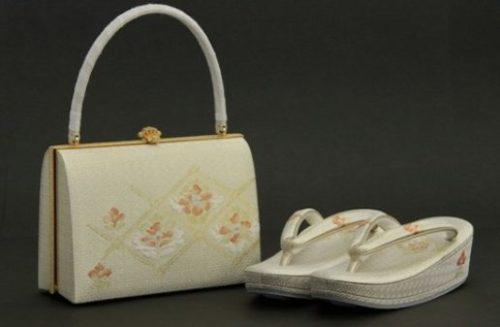 Kimono sandals bag