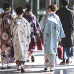 Kimono clock