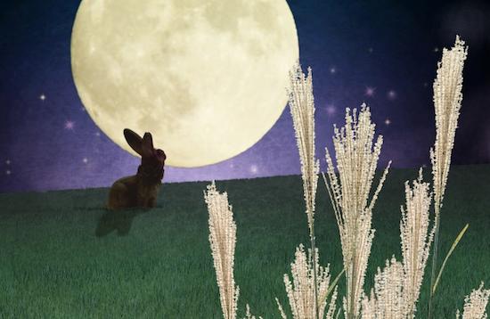 Moon rabbit legend