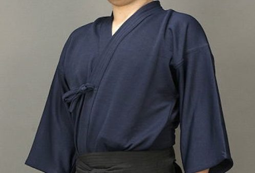 Wearing a kendo style
