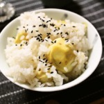 Chestnut rice recipe