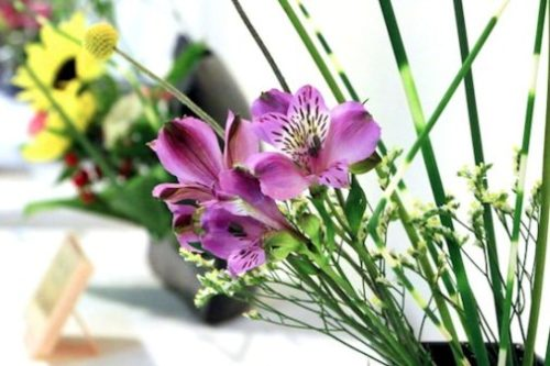 What is flower arrangement?