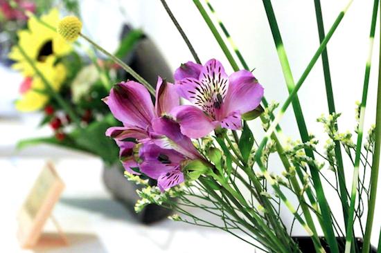 What is flower arrangement?