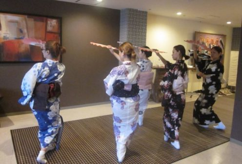 Japanese dance school