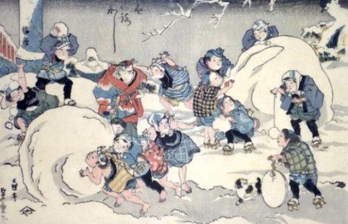 Edo period Ice Age
