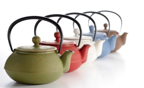 Teapots and iron bottles