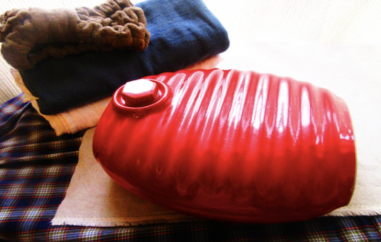 Various places Hot water bottle