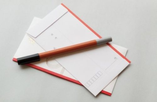 Gift envelopes contents