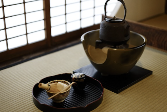 Tea ceremony charm