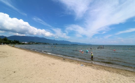 Where would you like to barbecue in Lake Biwa?