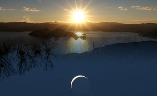 Summer solstice winter solstice