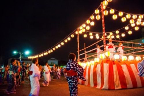 What is the meaning of bon odori?