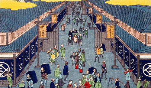 江戸時代の風景