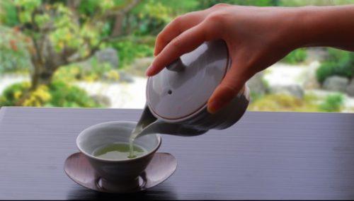 お茶の淹れ方