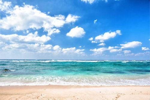 綺麗な海と浜