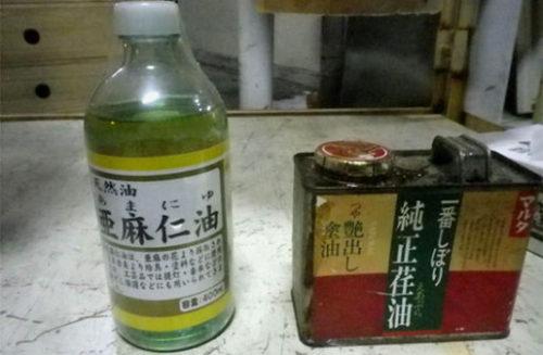 油引きに使う油