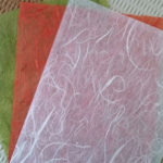 美しい透かしの和紙