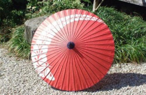 和紙を使った和傘