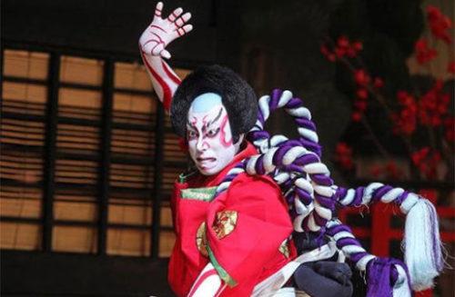 歌舞伎の見得