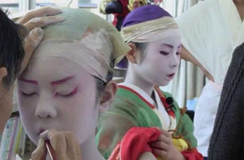 歌舞伎のメイク
