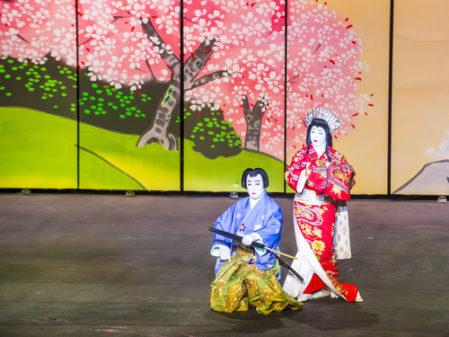 歌舞伎の美人