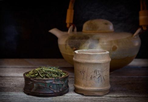 夜 緑茶 リラックス