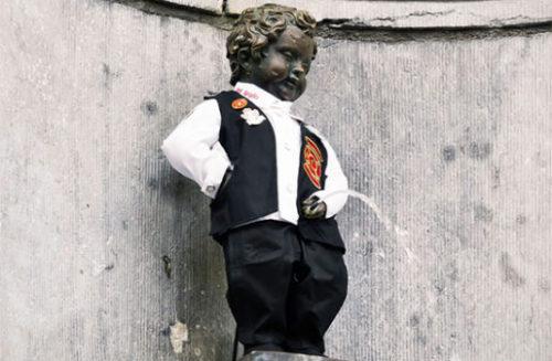 ベルギーの小便小僧