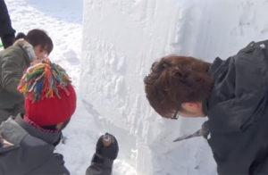 雪像の作り方