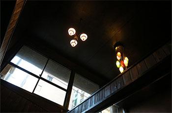 古民家の天井