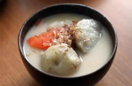 関西の里芋入り雑煮