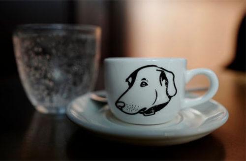 犬好きのコーヒーカップ