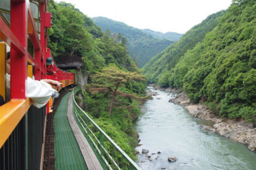 日本の列車で旅に出よう