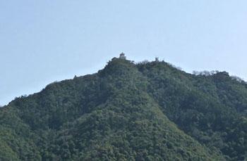 小粒に見える岐阜城
