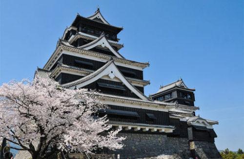 迫力ある熊本城