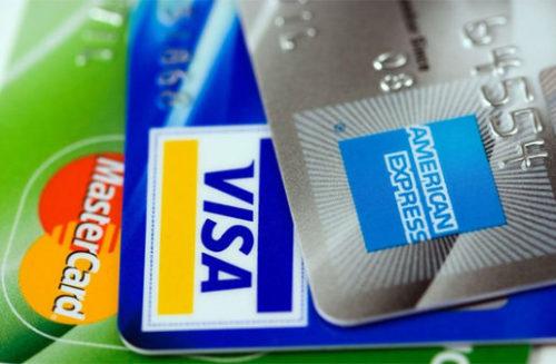 さまざまなクレジットカード