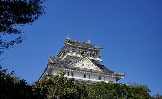 美しい岐阜城