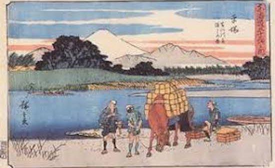 江戸時代 馬車