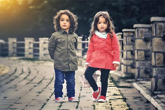 外国の子ども