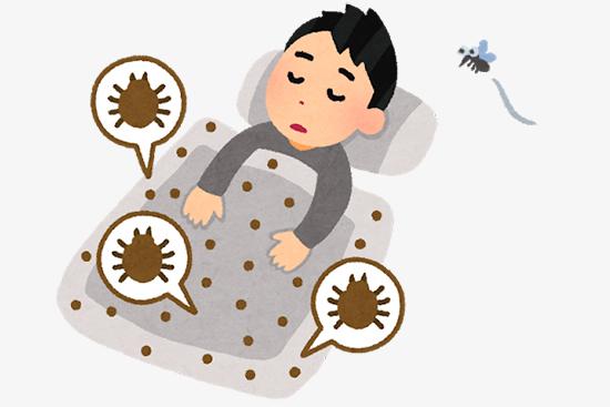 蚊とダニの種類