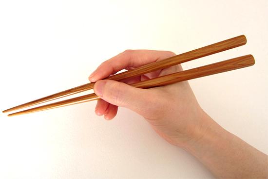 自分の箸の使い方は正しい?