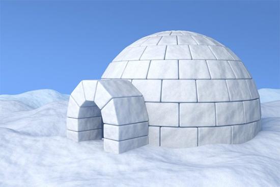 これも雪洞の一種?
