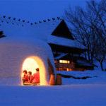 雪洞(かまくら)の中は暖かいの?