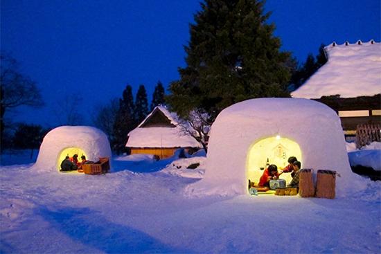 各地にある雪洞イベント