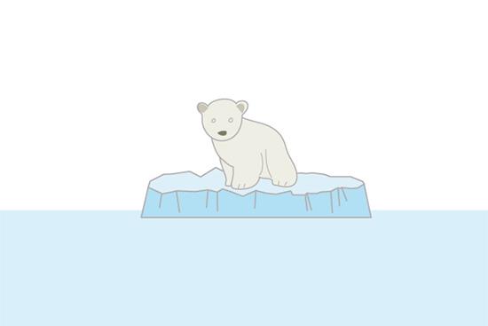 温暖化と雪洞