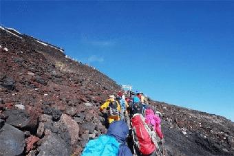 登山の荷物