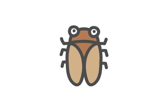 蝉時雨を構成する蝉の種類