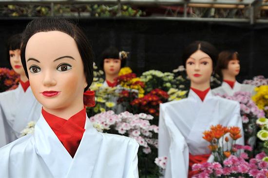 その他の有名な菊人形展
